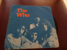 THE WHO  WON'T GET FOOLED AGAIN RARE COVER  ISRAEL ISRAELI P/S
