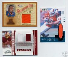 CLINTON PORTIS LOT OF 3 JERSEY CARDS