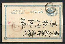 JAPAN POSTCARD LOT 4  ADDRESSED  WRITTEN ON REVERSE
