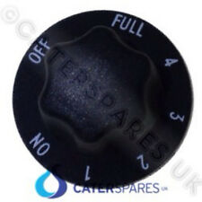 Centre Fix Simmerstat 50.57076.070 Black Control Knob On Off Full 1-4 Markings