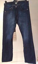 "Paul Smith organic cotton straight leg button fly jeans 30""W-32""L [measure 32w]"