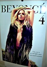 Beyonce 4 Original 2011Sony Music Entertainment Double Sided Promo Display Card