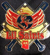 Lil Saints AZ GIRLS  FASTPITCH SOFTBALL PIN BADGE Y1