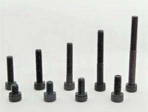 DIN 912 Zylinderkopfschrauben M3 M4 M5 ; Stahl , schwarz , hochfest 10.9