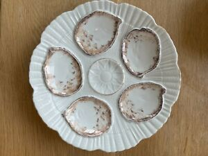 Oyster Plate, Beautiful, No markings