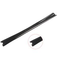 12pcs plastic welding rod black PP floor automobile bumper plastic welding 5mm