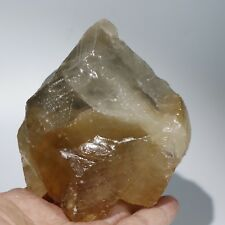 1.7LB779g Champagne color Big crystal Calcite new find from Jiang Xi China Q1357