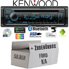 Kenwood Radio für Ford KA Bluetooth Spotify iPhone Android CD/MP3/USB Einbauset