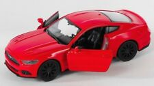 BLITZ VERSAND Ford Mustang GT 2015 rot / red 1:34 Welly Modell Auto NEU & OVP 1