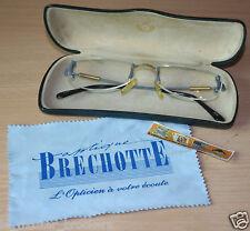 ETUI FACONNABLE + Monture lunettes (type invisible) + Chiffon Brechotte Opticien