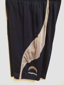 SAN DIEGO CHARGERS TEAM NFL MENS SHORTS DRI FIT WORKOUT NEW  SIZE SMALL