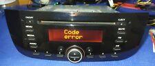 DELPHI F199FL Radio autoradio 7355354400 Fiat (con codice) - Grande Punto Evo