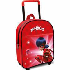 Ladybug Miraculous Kinder Trolley Rucksack Kindertrolley Kinderkoffer Koffer Rot