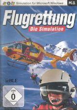 PC Spiel + FLUGRETTUNG + Die Simulation + Lebensretter in Action + Flugsimulator