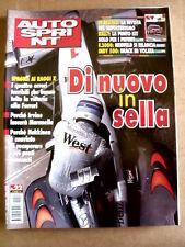 AUTOSPRINT n°22 1999  Inserto Superturismo Alfa Romeo Alfa 156  [P59]