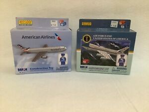 Air Force One & American Airlines Best Lock Construction Toys, NIB