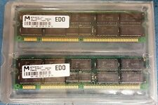 128MB Kit HP Compaq 114226-002 2x64MB EDO RAM ProLiant Servers Micron Technology