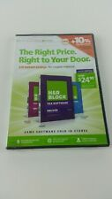 Replacement H&R Block 2014 Tax Year Software CD-ROM for PC MAC