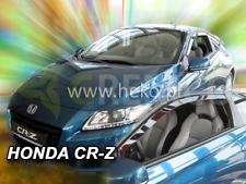 HONDA CR-Z 3-portes 2010-2016 Deflecteurs de vent 2-pièces HEKO Bulles