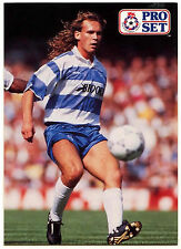 Darren Peacock Queen Park Rangers #322 Pro Set Football 1991-2 Trade Card (C364)