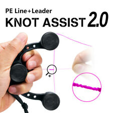 New listing Fishing Bobbin Knotter Line Knotting Tool Knot Braided Line to Leader Connection