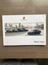 FOLLETO de la gama de modelos de Porsche 2016
