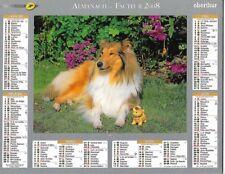 Wisden 2008 Calendar of La post Ptt - Haute-Saône 70 & Ter. of Belfort 90