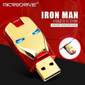 Avengers Marvel USB Flash Drive Thumb USB Memory Stick U Disk PenDrive 4 8 16 GB