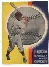 1937 WHEATIES Series 9 Harlland Clift St. Louis Browns