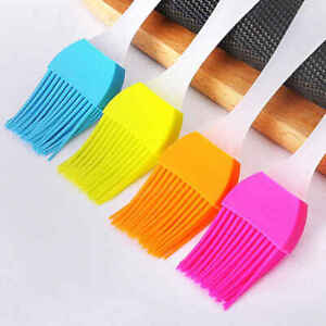 Baking Oil Brush Silicone Cooking Butter Basting Pastry BBQ Bakeware Utensils