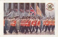 MILITARY : THE BUFFS- Marching through the City of London 1906-FALKNER