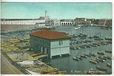 1900s  Color Postcard of Algiers Le Sport Nautique