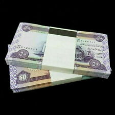 10,000 IRAQI DINAR (200) 50 NOTES UNCIRCULATED!! AUTHENTIC! IQD!