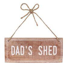 Dad's étable pendant panneau en bois cadeau idéal pour votre Dad's homme Cave