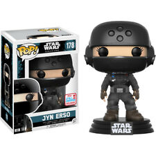 Star Wars: Rogue One- Jyn Erso with Helmet Pop! Vinyl Figure (2017 Fall Con)