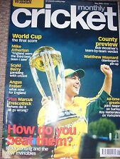WISDEN CRICKET MONTHLY - RICKY PONTING - MAY 2003