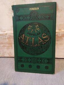Letts's Popular Atlas Foreign 1883