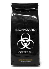 Biohazard Ground Coffee, The World's Strongest Coffee 928 mg Caffeine (1 LB)