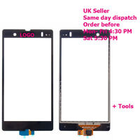 Sony Xperia Z Touch Screen Digitizer Glass LT36i LT36H L36H C6603 Black + tools