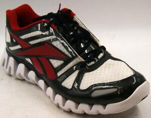Reebok Zigtech New Jersey Devils Black/White/Red Men's Running Shoes Sz 13.5 M