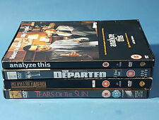 DVD Job Lot Analyze This Departed, Once Upon a Time in America, Tears of the Sun