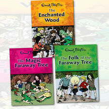 Enid Blyton Magic Faraway Tree Series Collection 3 books Set Brand New PB