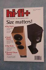 HiFi+ Magazine: Issue 14 - Nov/Dec 2001, Living Voice Avatar OBX