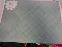 NOS 25 VINTAGE PAPER PLACEMATS MOUSE JUST CHEESY  9 3/4 X 14