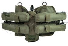 Valken V-TAC 4+1 Pod Tank Harness Paintball Pack Olive Tactical Pod Pack NEW