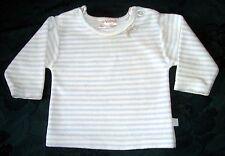 Baby Jungen  Nicki-T-Shirt Langarm C&A BABY CLUB Gr.62 (2-4 M) hellblau mit Auto