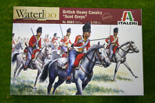 British Heavy Cavalry 'Scots Greys' 1815 Waterloo 200 1/72 Italeri Napoleonic...