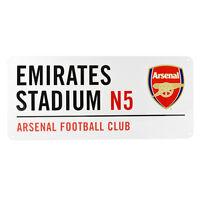 Arsenal Emirates Stadium Street Sign - 40cm x 18cm - One Size