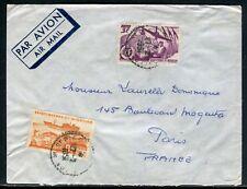 Saint Pierre et Miquelon - Enveloppe pour Paris en 1951 - ref D164