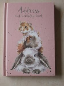 Gorgeous WRENDALE Address & Birthday Book - PIGGY IN THE MIDDLE - NEW